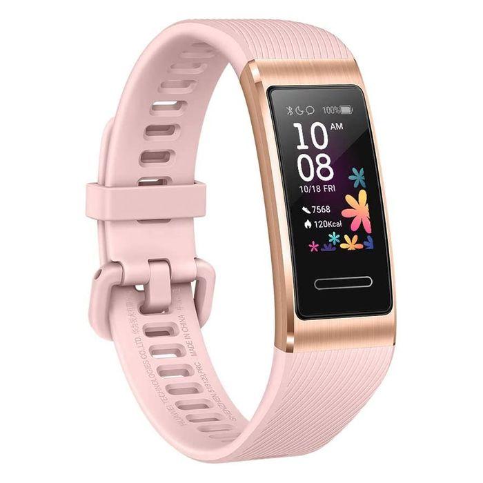 スマートウォッチ タッチスクリーン+タッチキー 6軸センサー 光学式心拍センサー 装着検知センサー(赤外線センサー) ピンクゴールド HUAWEI Band4pro/PinkGold