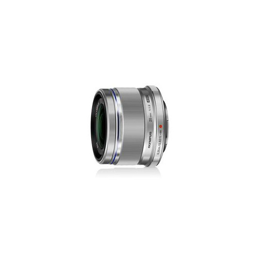 OLYMPUS レンズ M.ZUIKO DIGITAL 25mm F1.8 シルバー EZM25/F1.8 SLV EZM25/F1.8SLV