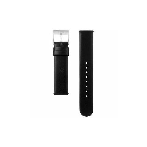 ソニー 電子マネー機能搭載替えバンド カーフ革 「wena wrist leather」(18-18mm・ブラック) WC-18E0N-B