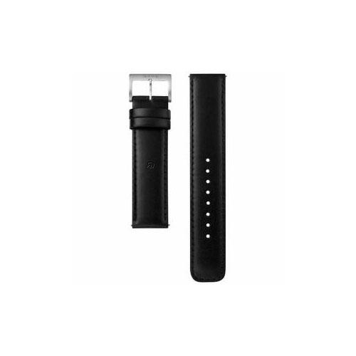 ソニー 電子マネー機能搭載替えバンド カーフ革 「wena wrist leather」(20-20mm・ブラック) WC-20E0N-B