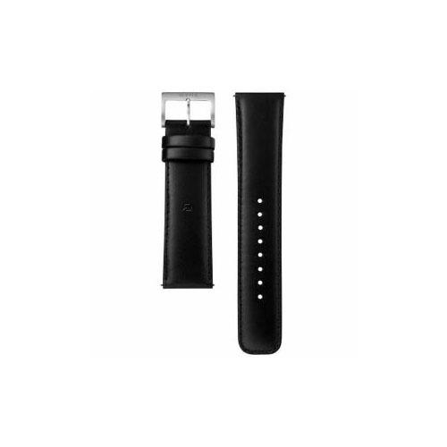 ソニー 電子マネー機能搭載替えバンド カーフ革 「wena wrist leather」(22-22mm・ブラック) WC-22E0N-B