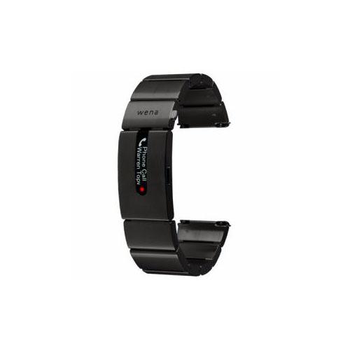 ソニー ハイブリッドスマートウォッチ wena wrist pro Premium Black (ウェナリスト プロ プレミアムブラック) WB-11AB