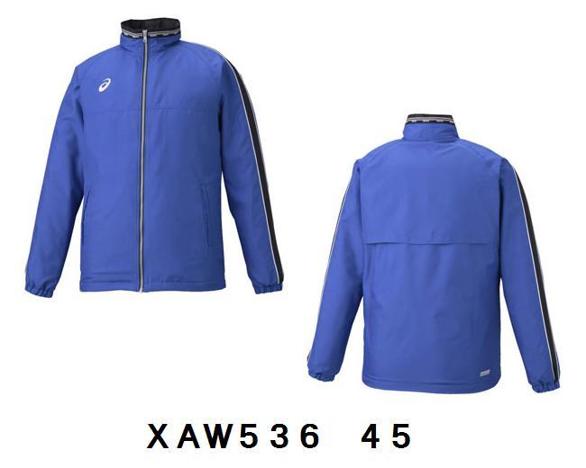 アシックス  ウインドブレーカー ジャケット・パンツセットXAW536  XAW636 45