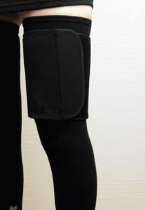 StyleーUP スタイルアップ ロングツインサポーター太もも用 (ブラック/フリーサイズ) エルローズ補正下着光電子