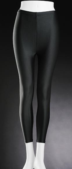 ポアンジュ リフトスパッツ ロング (ブラック) 美脚 ウエスト ヒップ レッグ 膝矯正 パワーストーン 天然鉱石