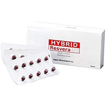 【送料無料】ハイブリッドレスベラGS (30粒) レスベラトロール・ブドウ種子由来・GSPP・ポルフェノール・高濃縮・ハイブリット・レスベラ・水溶性・2系統・吸収・ブドウ・種子・ポルフェノール・レスベラ・サーチュイン