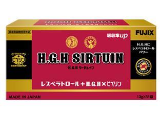 HGH H.G.H SIRTUIN エイチジーエイチ サーチュイン(12g×31袋) HGH #成長ホルモン 高濃度長寿 ワインレスベラトロール シミ ハリ 肌 年齢肌 活性型 吸収率 アミノ酸