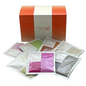 &Ratiaアンドラティア システムダイエット95 NEW(30g×14包) ダイエット グルコマンナン 美味しい 美容処方 食物繊維 7味 &ラティア