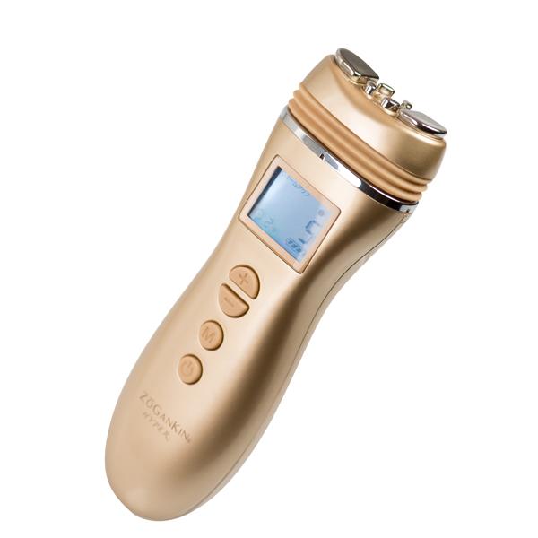 表情筋を鍛えるゾーガンキン ハイパー/美容機器 高周波エステ 表情筋 ハリ ツヤ ラジオ波 パルス EMS