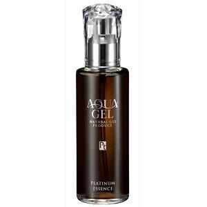 アクアゲル プラチナコロイドエッセンス(100ml) 化粧水&美容液 マイナスイオン 天然ヒアルロン酸 浸透 さび プラチナエイジングケア ターンオーバー 肌深部 保護 バリア しみ くすみ たるみ ラシンシア