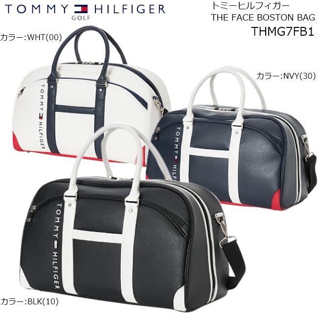 TOMMY HILFIGER (トミーヒルフィガー)THE FACE ボストンバッグ THMG7FB1【B-ONE】