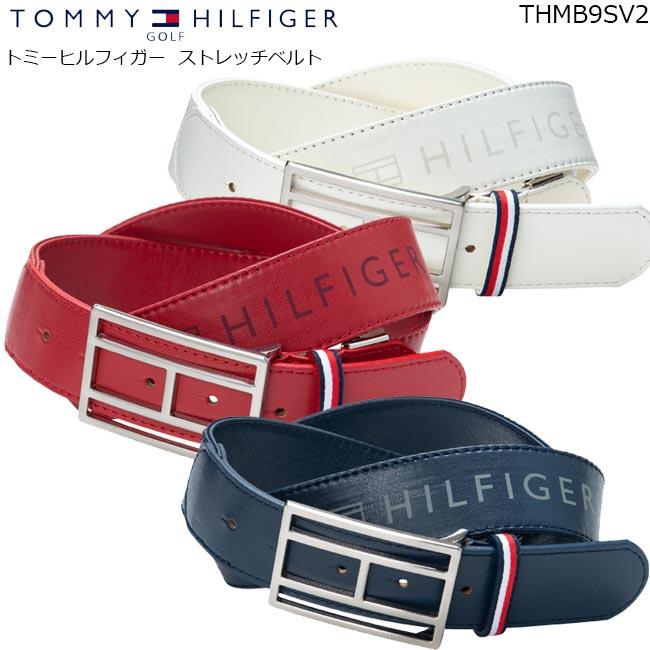 新作販売 TOMMY HILFIGER GOLF 送料無料 激安 お買い得 キ゛フト トミー ヒルフィガー ゴルフ B-ONE ストレッチベルト THMB9SV2 BELT STRECH