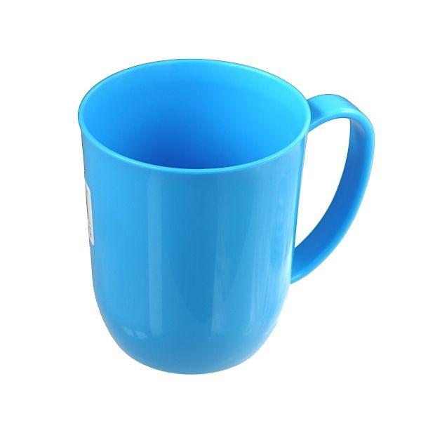 電子レンジで使えるマグカップ マグカップ ブルー 店舗 カラフルマグ 電子レンジ対応 300ml ※アウトレット品