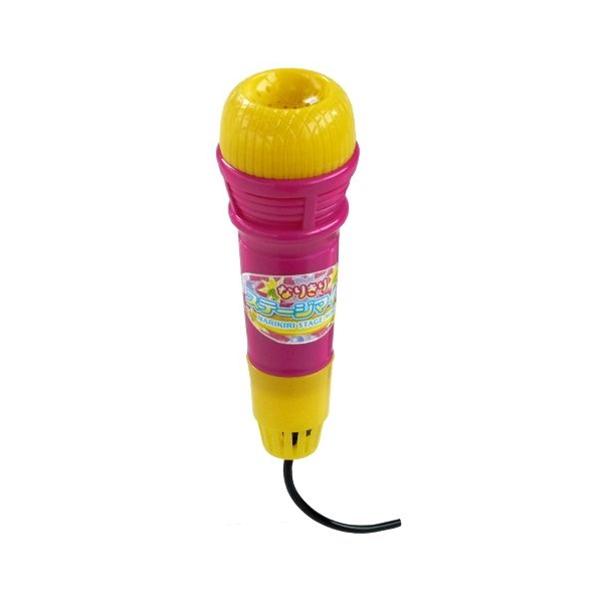 声がエコーする お中元 上質 おもちゃのマイクです エコーマイク