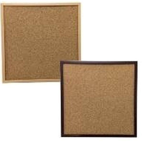 日本全国 送料無料 写真やポストカードを飾る PS木目調コルクボード 休み 25×25cm