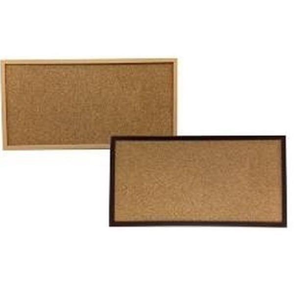 写真やポストカードを飾る PS木目調コルクボード 20×40cm 賜物 新品未使用正規品