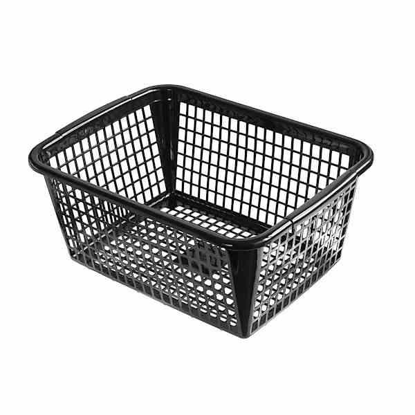 たっぷりと大容量の収納が可能 お買い得品 バスケット A4サイズ収納可 セール 登場から人気沸騰 40×30×高さ17.5cm ブラック サンテール