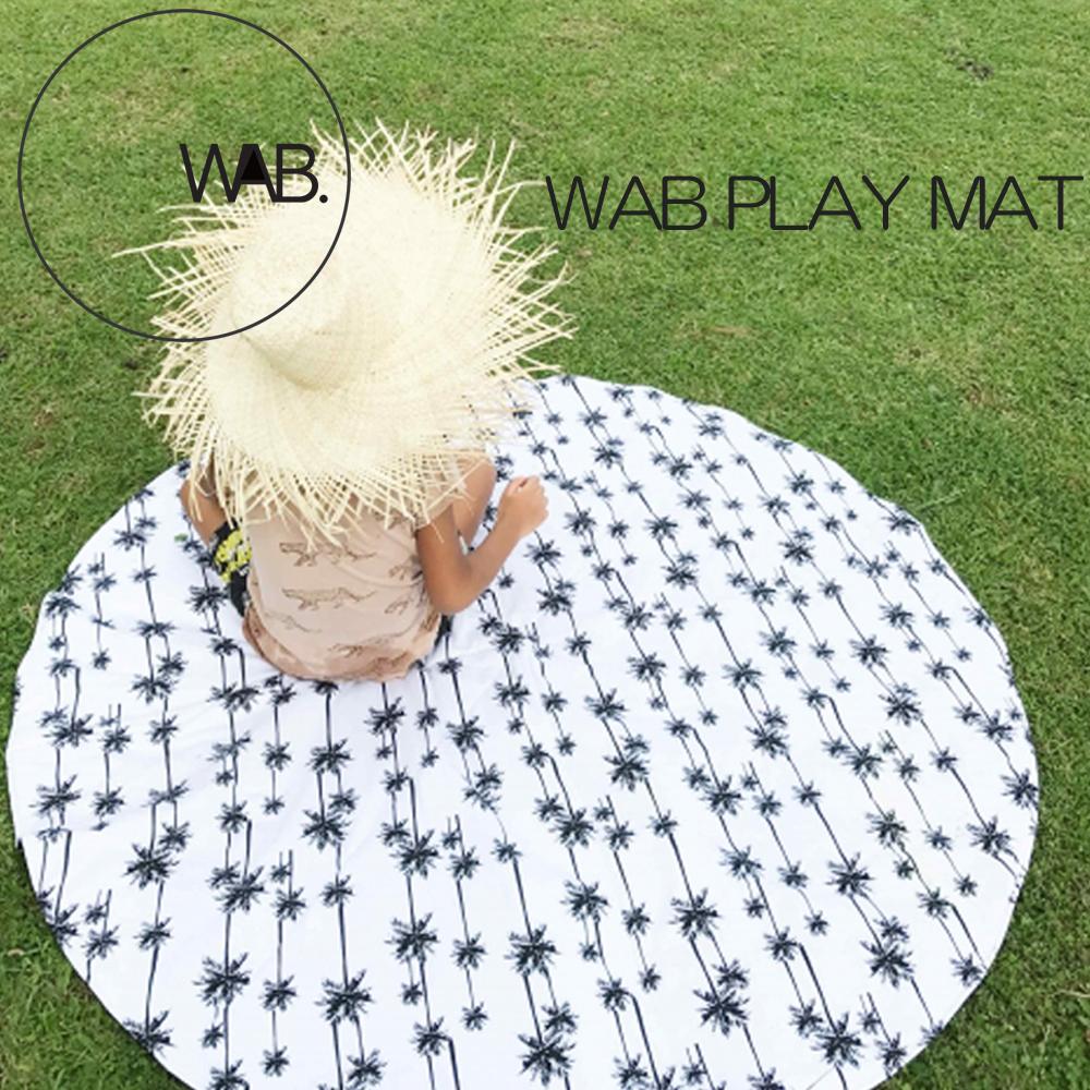 WAB PLAYMAT 赤ちゃん お昼寝 ビーチ プールサイド 公園 リラックス