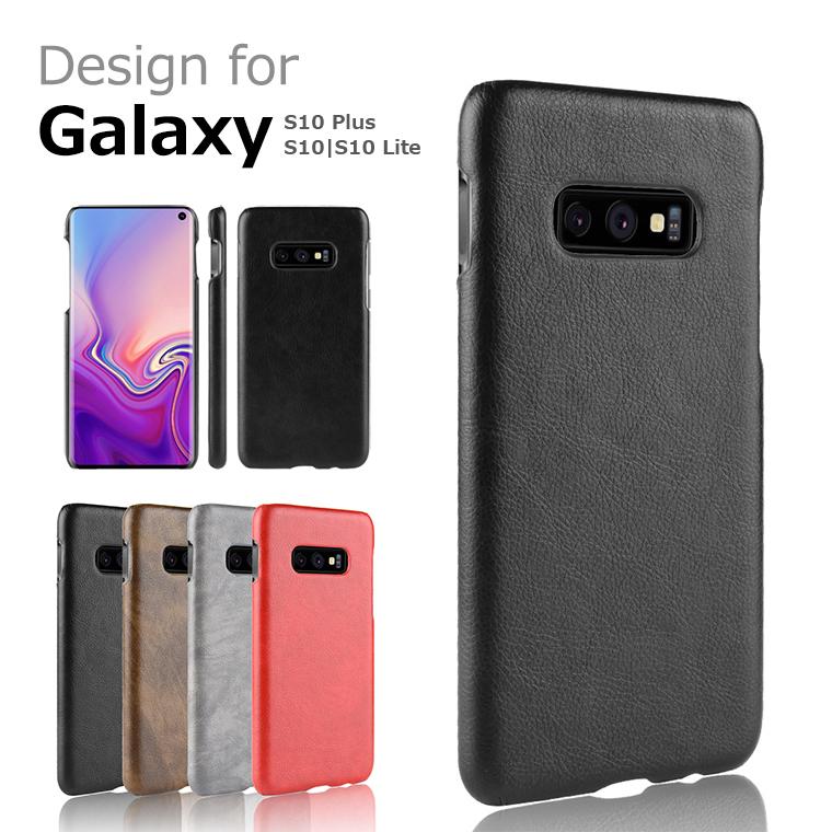 Galaxy s10 ケース Garaxy s10+ ケース レザー ヴィンテージ風 Galaxy S10 LITE s10 s10 plus ケース  PUレザー+PC 背面ケース 耐衝撃 薄型 オシャレ かっこいいGalaxy