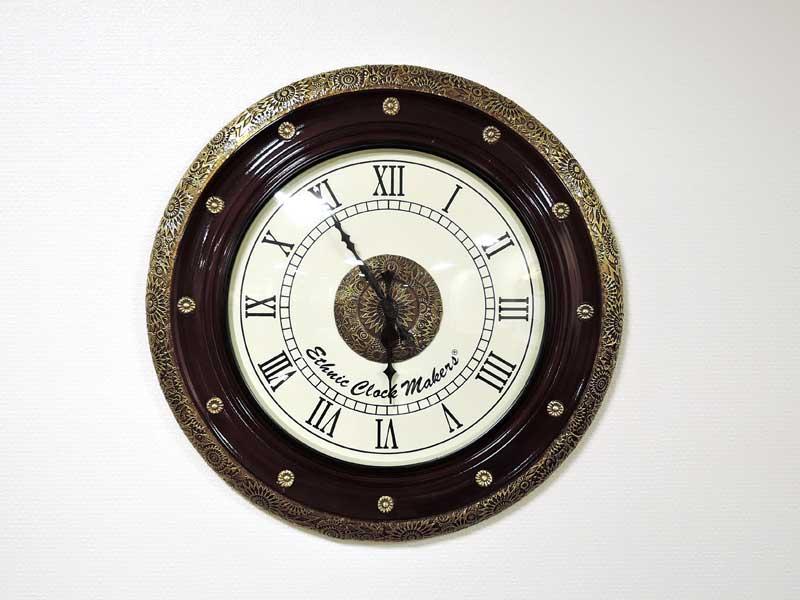 ウォールクロック アンティークス 掛け時計 掛時計 壁掛け アンティーク クラシック シンプル アナログ インテリア おしゃれ 北欧 アジアン雑貨