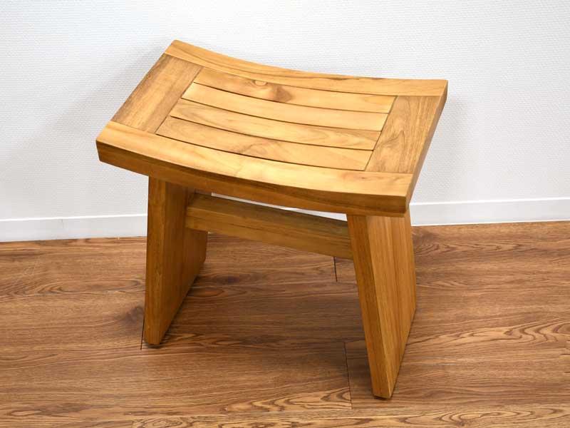 ウィングスツール チーク 無垢 シングル チェア ベンチ オットマン アジアン ナチュラル チーク材 北欧 木製 椅子 イス チーク材 天然木 おしゃれ アジアン家具