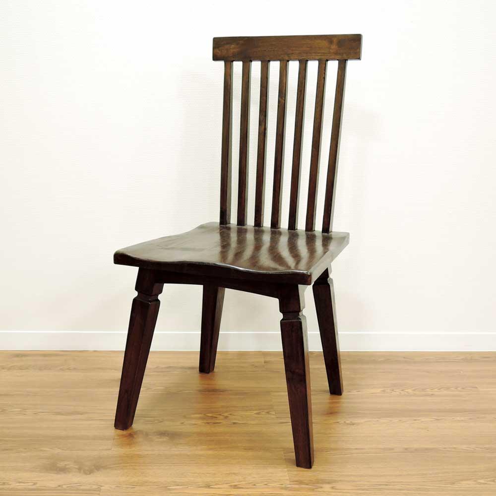 チェア チーク 無垢 ダイニングチェア デスクチェア アジアン 北欧 木製 椅子 イス チーク材 天然木 おしゃれ アジアン家具【ペック】