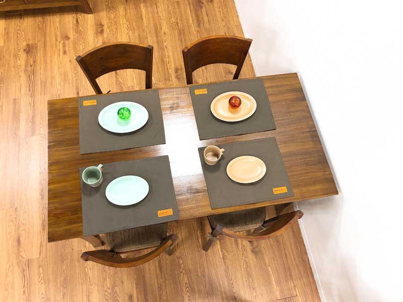 ダイニングテーブル 4人掛け 150cm チーク 無垢 ダイニング テーブル アジアン 北欧 木製 食卓 イス チーク材 天然木 おしゃれ アジアン家具【コルベッティ】