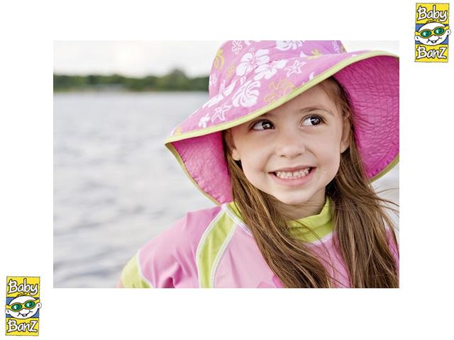 BABY BANZ 리버시블 UV HAT 베비반즈