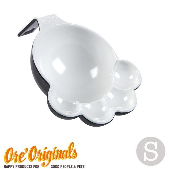 OREオリジナルス(ORE Originals)足型シェイプがとってもかわいいフードスプーン:サイズS(Black & White)
