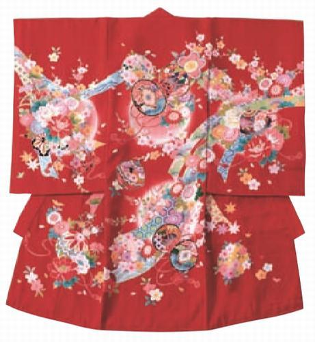 【JM46】つづみ  【レンタル1週間】女児お宮参り衣装 往復送料無料!フード3点セット無料!