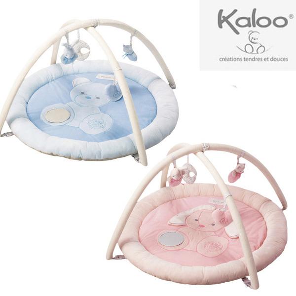 【送料無料】カルー(Kaloo)パール・プレイマット ブルー/ピンク