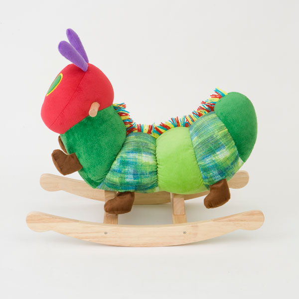 "ERIC CARLE Eric Carle ""the very hungry caterpillar Caterpillar rocking"
