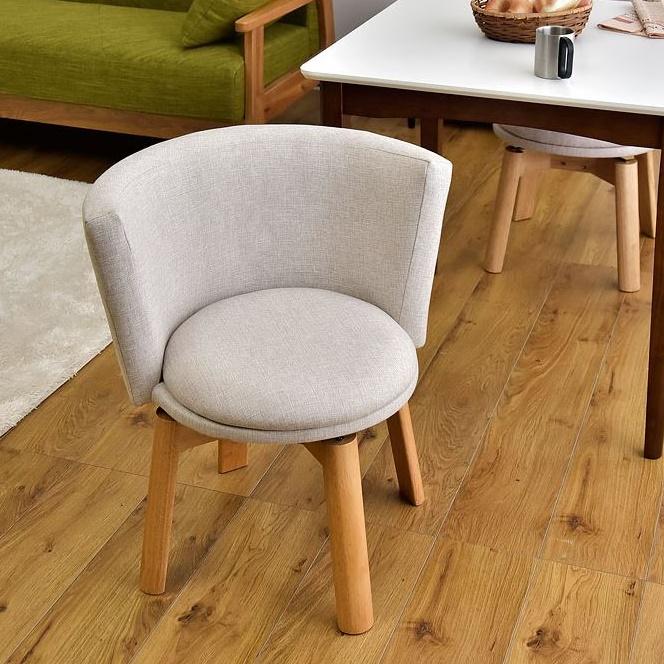 ダイニングチェア 360 回転チェア 回転 回転椅子 チェア リビングチェア 木製 ダイニングチェアー チェアー イス 椅子 丸椅子 選べる2タイプ ファブリック 食卓 公式 レザー 人気商品 カフェ 360度回転式 おしゃれ 北欧 うちカフェ 360度 送料無料 回転式 布