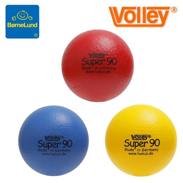 あたっても痛くない不思議なボール♪ ボーネルンド しわくちゃボール 90mm ボリー社(ドイツ) 赤、青、黄 volley【北海道・沖縄及び離島発送不可】