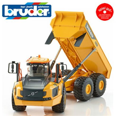 Bruder(ブルーダー)プロシリーズ BR02455 Volvo ハウラーA60H【北海道・沖縄及び離島発送不可】