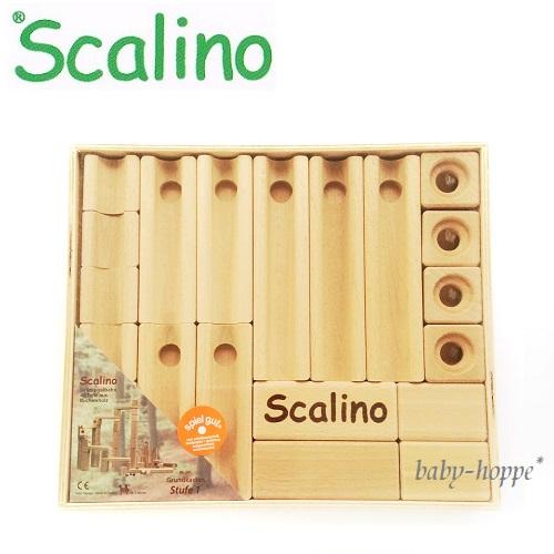 スカリーノ 基本セット Scalino スカリーノ社 スターターセット 玉が転がる道を作ります 正規輸入品