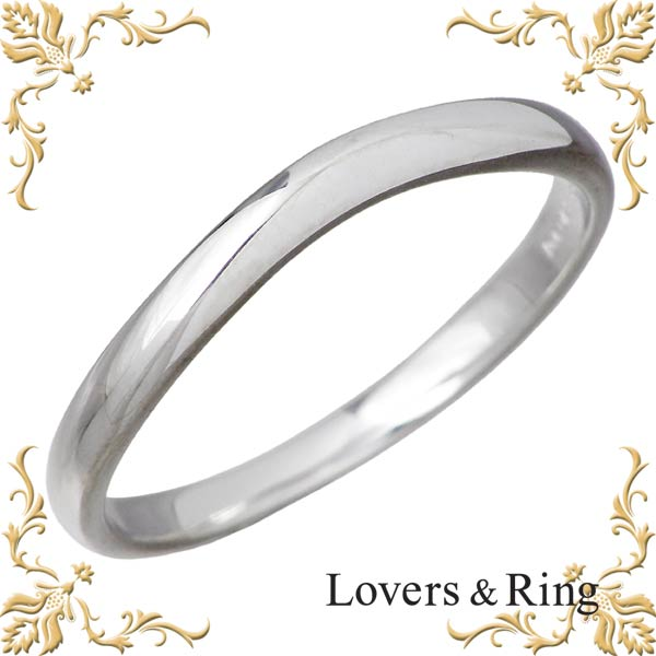 Lovers & Ring【ラバーズリング】 K10 ホワイトゴールド リング 指輪 アクセサリー メンズ 11~23号 LSR-0664WG