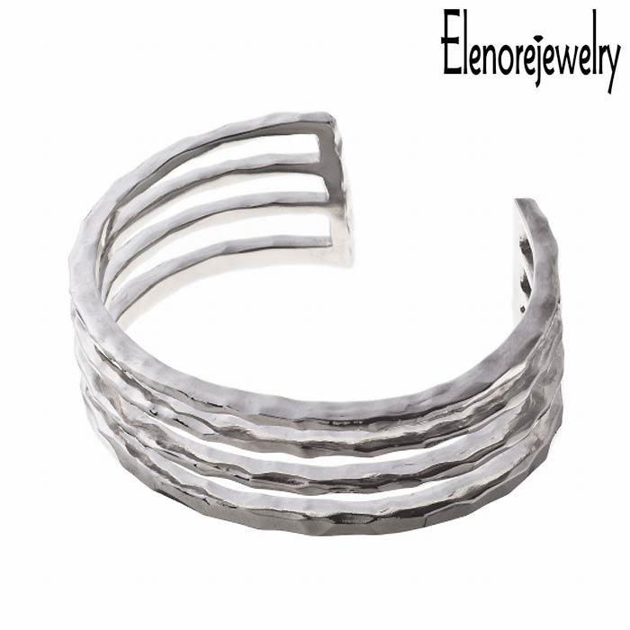 Elenore Jewelry【エレノアジュエリー】 シルバー バングル アクセサリー ブレスレット アクセサリー フォース ELB0001