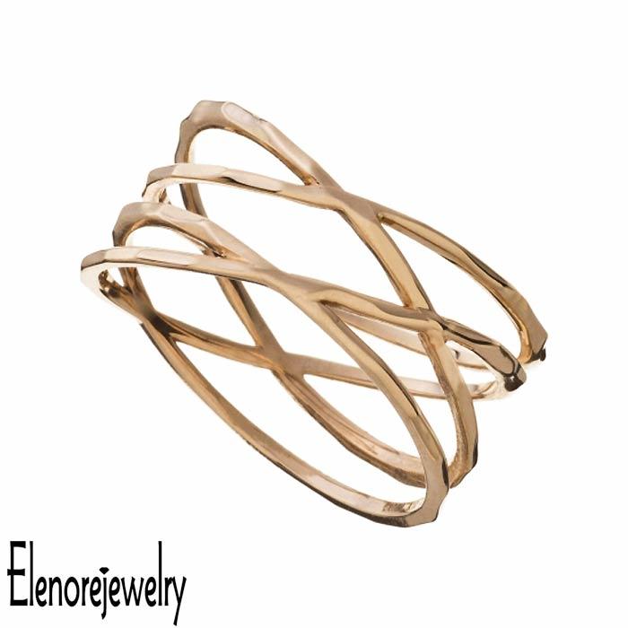 Elenore Jewelry【エレノアジュエリー】 10K ゴールド リング 指輪 アクセサリー ラップ 9号~13号 ELR0003