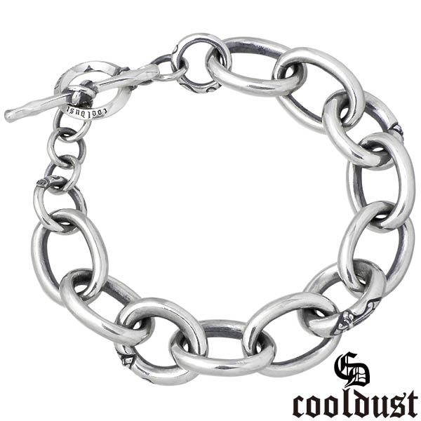 cooldust FUNKOUTS【クールダスト】 シスル チェーン シルバー ブレスレット アクセサリー M 花 シルバー925 スターリングシルバー FCB-061M