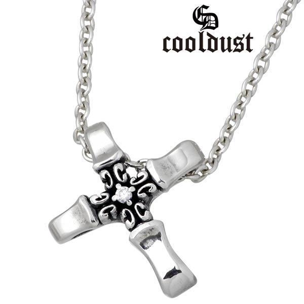 cooldust FUNKOUTS【クールダスト】 ノーザンクロス シルバー ネックレス 北十字 カラーストーン シルバーアクセサリー シルバー925 FCN-031CL60