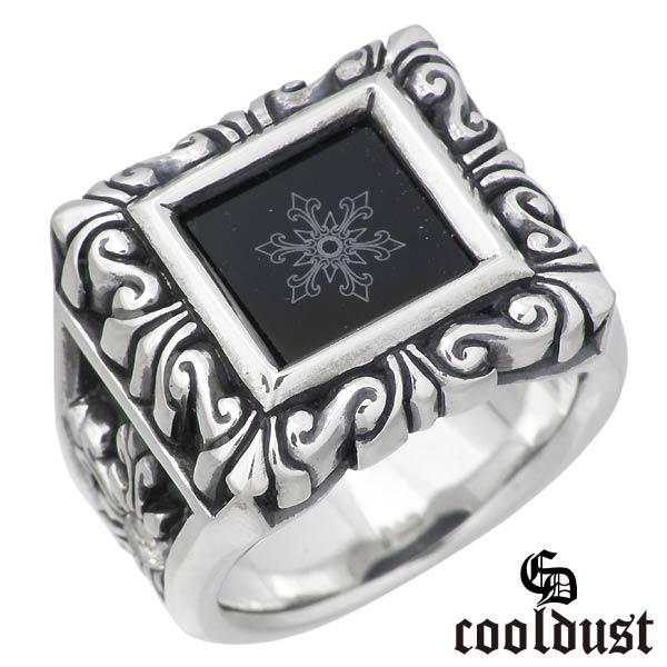 cooldust FUNKOUTS【クールダスト】 スノーフレークオブスカルプチャー シルバー リング 17号 指輪 アクセサリー カラーストーン シルバー925 スターリングシルバー FCR-026-17