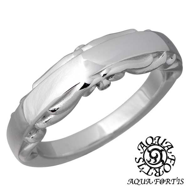 AQUA FORTIS【アクアフォルティス】 アラベスク シルバー リング ダイヤモンド 指輪 アクセサリー 7~13号 シルバー925 スターリングシルバー FR-022RC-DM