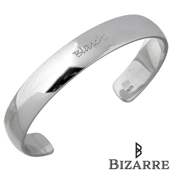 Bizarre【ビザール】 マルク シルバー バングル M レディース シルバーアクセサリー シルバー925 BBP002