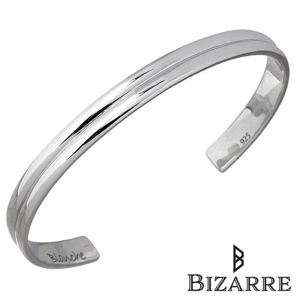Bizarre【ビザール】 ドゥー シルバー バングル レディース シルバーアクセサリー シルバー925 BBP005