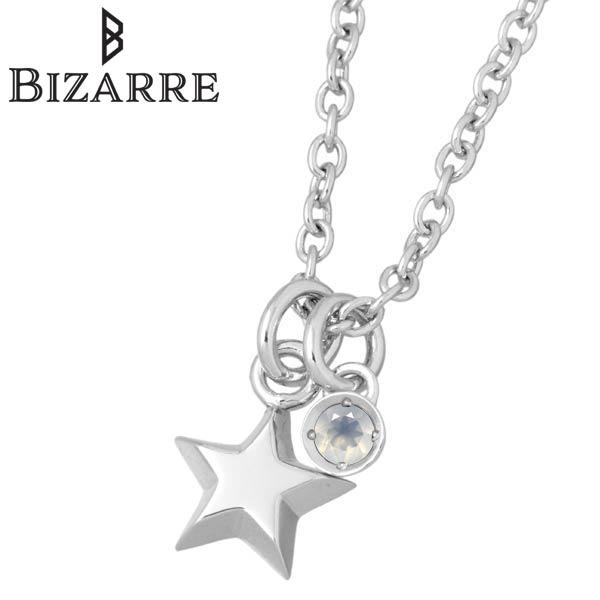 ビザール BIZARRE エトワール シルバー ネックレス アクセサリー スター 星 ムーンストーン 誕生石 レディース シルバー925 スターリングシルバー BNJ002MS