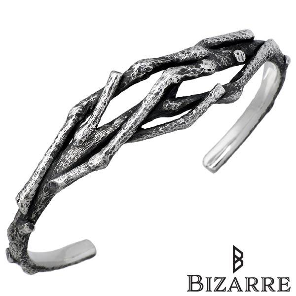 Bizarre【ビザール】Dead tree シーフ シルバー バングル メンズ SBP080