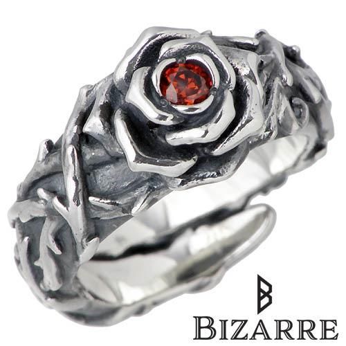 Bizarre【ビザール】 シークレット ローズ シルバー リング 指輪 シルバー 薔薇 バラ シルバーアクセサリー シルバー925 SRJ088SV