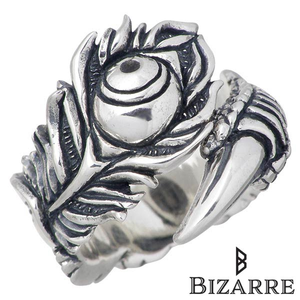 Bizarre【ビザール】 プライド シルバー リング 孔雀 指輪 アクセサリー 12~22号 シルバー925 スターリングシルバー SRP085