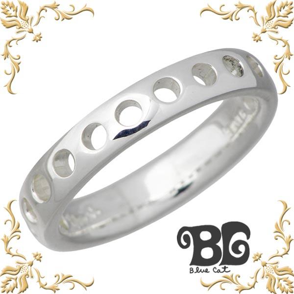 Blue Cat【ブルーキャット】 シルバー デザイン リング レディース 指輪 アクセサリー 9~15号 シルバー925 スターリングシルバー SWG380-0860